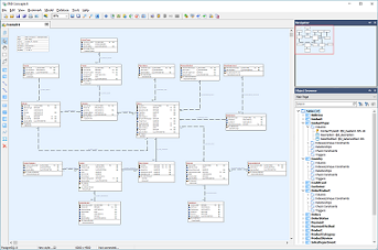 Erd concepts 8 erd concepts is a database designer and sql query tool for all major databases making a complete and visually attractive entity relationship diagram erd ccuart Image collections